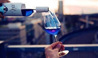 Você Conhece o Excêntrico Vinho Azul?