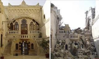 Síria: O Antes e o Depois da Triste Guerra Civil