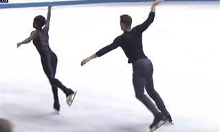 Campeões de patinação no gelo em número espetacular