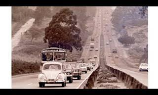 Como era o comportamento no trânsito na década de 70?