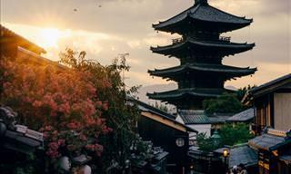 Fotógrafo japonês captura a beleza de sua terra natal