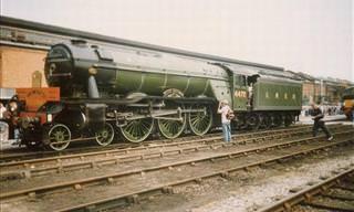 As 10 Locomotivas a Vapor Mais Rápidas da História