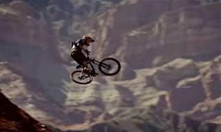 Manobras Radicais Na Natureza Com Bicicleta