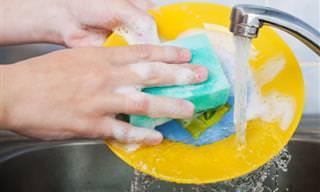 Como Acabar De Vez Com Os Germes Da Esponja De Cozinha