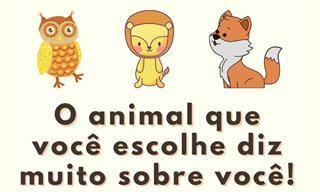 Teste: Escolha seus animais favoritos e conheça-se melhor!