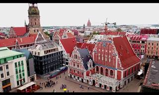 Viaje pelas belezas de Riga, na Letônia