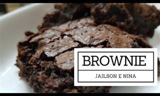 Receita do gato Jailson e Nina, sua assistente: Brownies