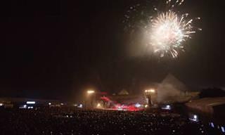 Yanni - Show espetacular nas pirâmides egípcias