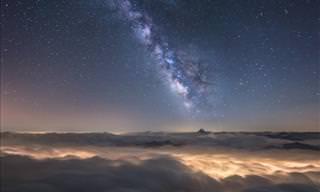 Paisagens Noturnas dos Alpes