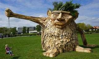 Surpreenda-se Com Estas Esculturas de Madeira