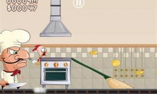 Ajude o Franguinho a Fugir do Restaurante Neste Jogo!