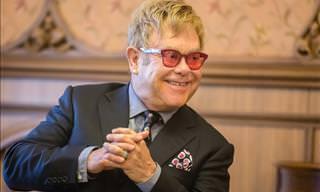 O tempo não passa para o talento de Sir Elton John