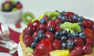 Torta Levíssima de Frutas