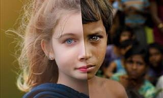 15 imagens da vida em circunstâncias muito diferentes