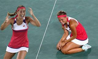 Emocionantes e comoventes vitórias olímpicas