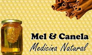 Mel e Canela: O Seu Remédio Natural!