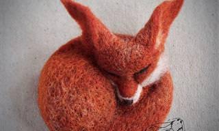 Esses Animais São Feitos de Lã