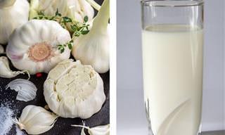 10 Benefícios do leite com alho e como fazê-lo