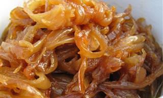Aprenda a Fazer Deliciosas Cebolas Caramelizadas