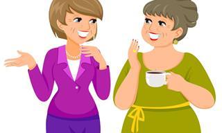Piada: Conversa entre duas amigas