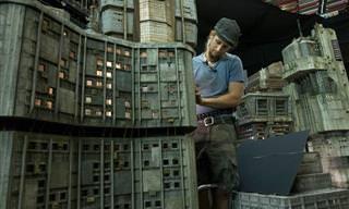 O Cenário Em Miniatura Usado No Filme Blade Runner 2049
