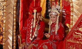 20 Deslumbrantes Trajes de Casamento de Todo o Mundo