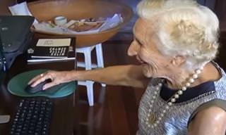 Veja a história emocionante da formanda mais velha do mundo!