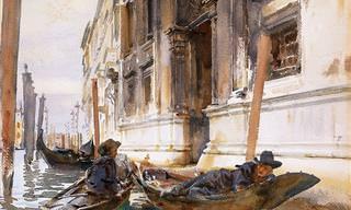 Estas pinturas em aquarela evocam o charme do Velho Mundo