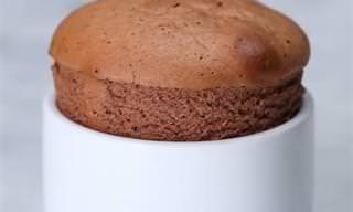 Receita Prática e Econômica de Suflê de Nutella