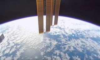 Pela primeira vez na história, uma visão genuína do espaço