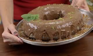 Gostoso e Saudável: Bolo de Alfarroba Sem Chocolate!