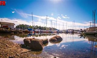 Assista: Conheça a belíssima ilha Ulvøya na Noruega!