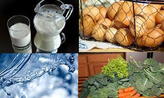 6 Alimentos Bons Para os Cabelos, e Também Para as Unhas!