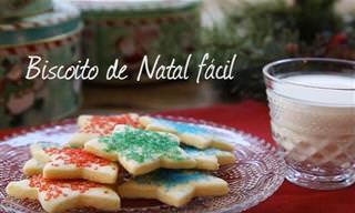 Receita da Semana: Biscoitos Fáceis de Natal!
