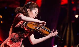 Ji-Hae e Seu Violino: Uma apresentação como você nunca viu!