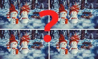 Encontre as Diferenças: Edição Especial de Natal!