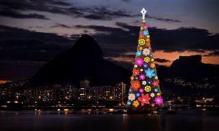 21 Lindas Árvores de Natal Ao Redor do Mundo