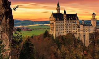 Os Castelos e Palácios Mais Lindos da Baviera na Alemanha