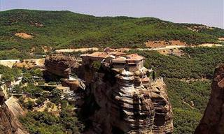 Os Incríveis Mosteiros Místicos de Metéora, na Grécia