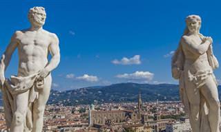 Piada do Dia: Isto é o Que Acontece Quando as Estátuas Ganham Vida...