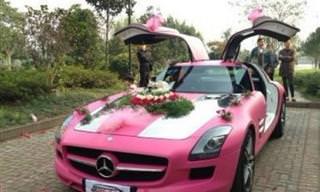 Carros de Noivos Como Você Nunca Viu