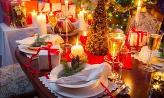Aprenda Como Montar a Mesa Perfeita Para a Sua Ceia de Natal!
