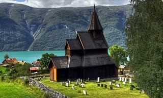 A Fantástica Arquitetura de Madeira na Noruega