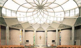 Igrejas modernas e impressionantes mundo afora