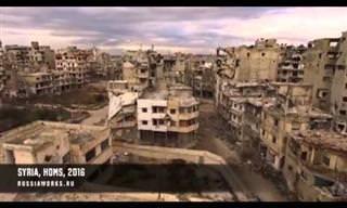 O Preço da Guerra: Um Passeio Aéreo Pela Síria
