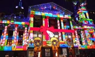 Luzes de Natal em Várias Cidades do Mundo