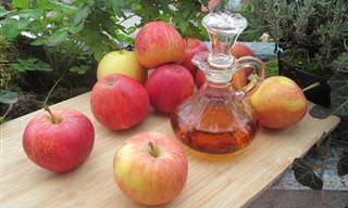 10 Benefícios maravilhosos do vinagre de sidra de maçã!
