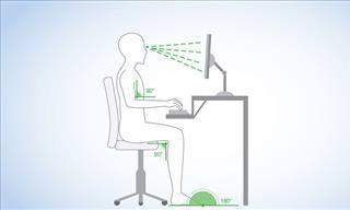 Qual A Melhor Maneira de Sentar em Frente ao Computador