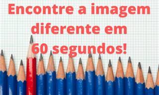 Você consegue encontrar a foto diferente em 60 segundos?