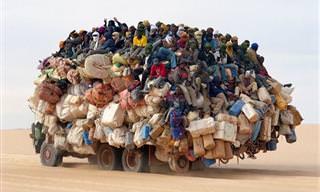 Sem Exagero: Os Carros Mais Lotados do Planeta!